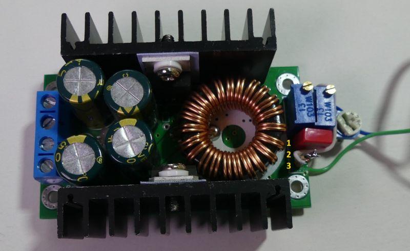 Sterownik do samochodowej lodówki na module Peltiera W1209+XL4016