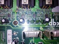 DBX Driverack Pa Procesor dzwięku, szukam schematu elektrycznego, uszkodzony