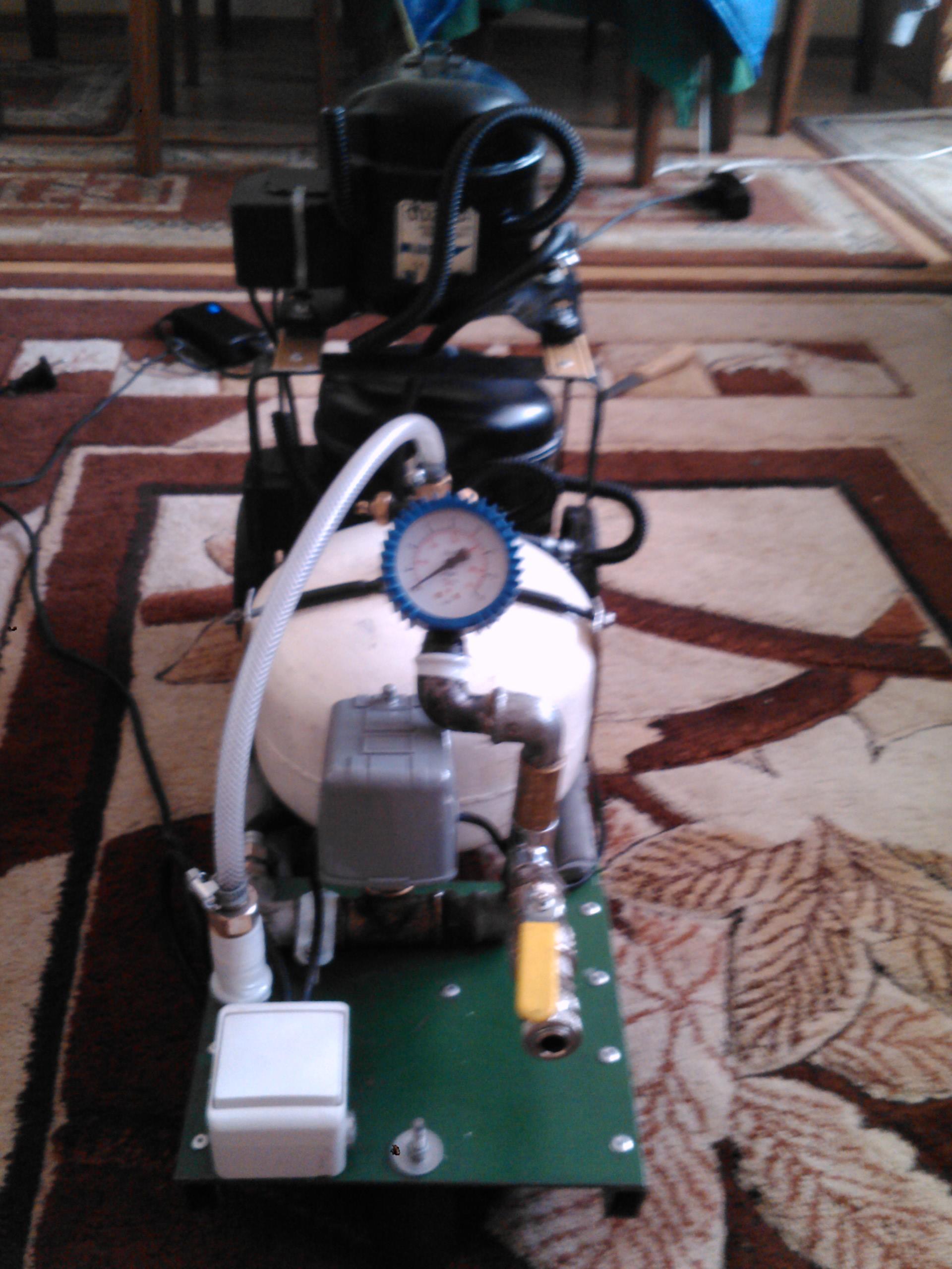 Kompresor lod�wkowy modelarski i do roweru