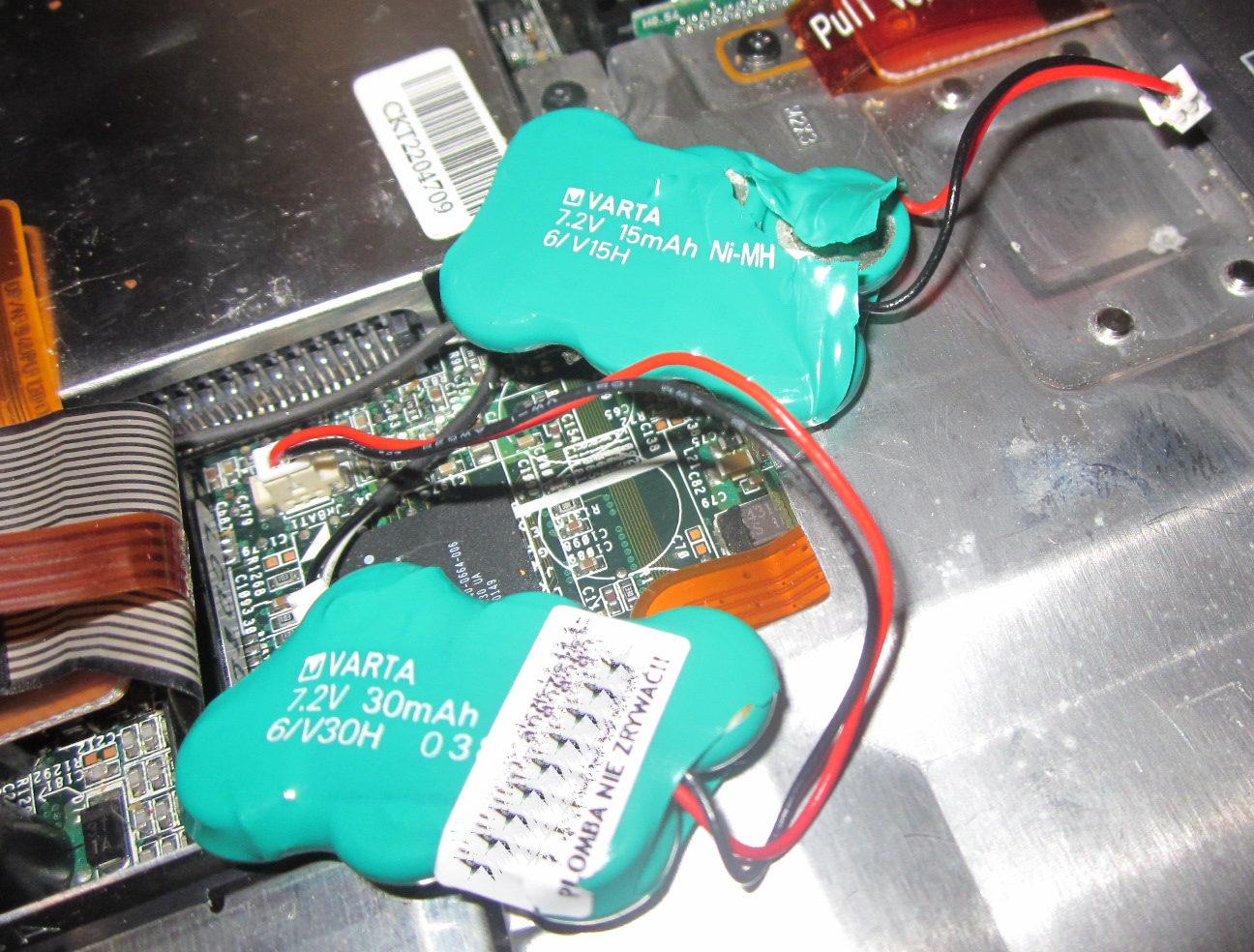 Dell Inspiron 4100 - Roz�adowany akumulator BIOS CMOS ? Bateria laptopa a BIOSu
