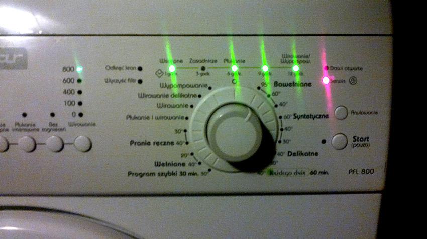 Polar PFL 800 - Jaki to kod b��du ?