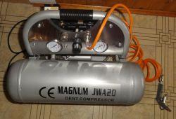 Magnum JWA20 - czyli kompresor dentystyczny w warsztacie elektronika