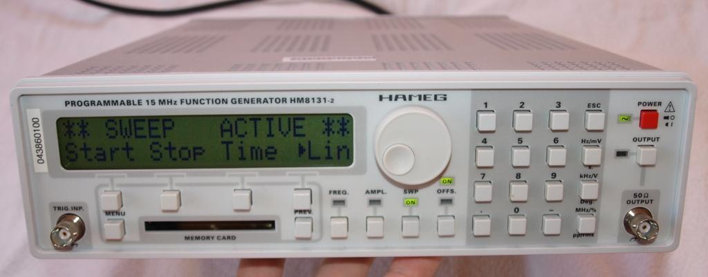 [Sprzedam] Generator funkcyjny HAMEG HM 8131-2