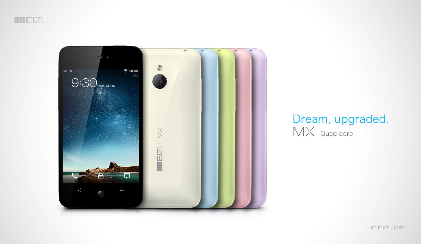 Meizu MX Quad-core - chi�ski superphone z 4-rdzeniowym Exynos i Android 4.0
