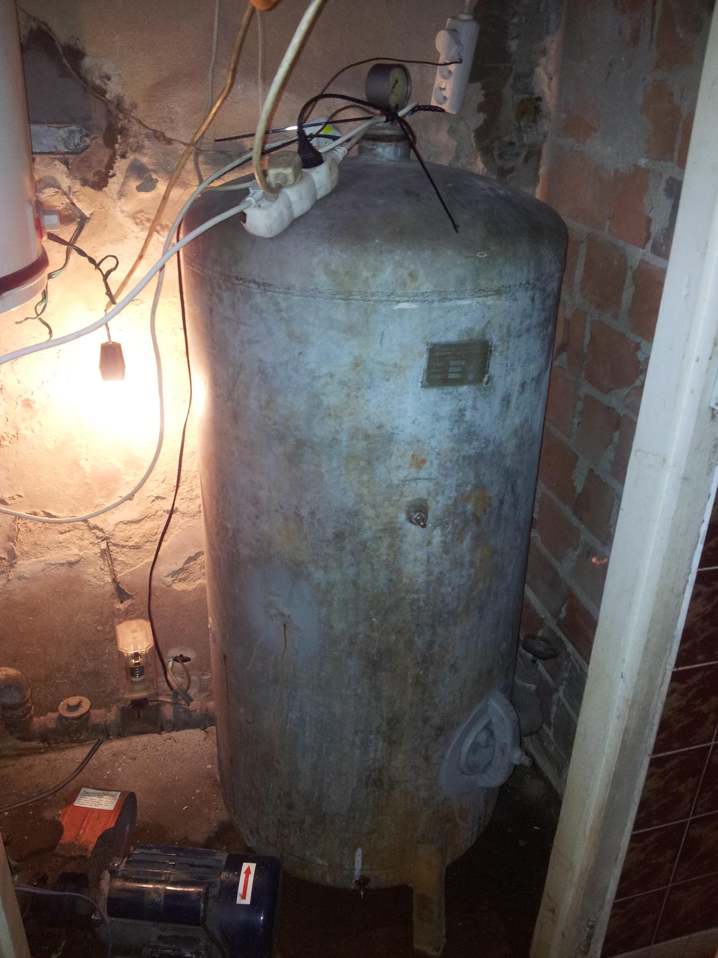 stara pompa hydroforowa nie pompuje.