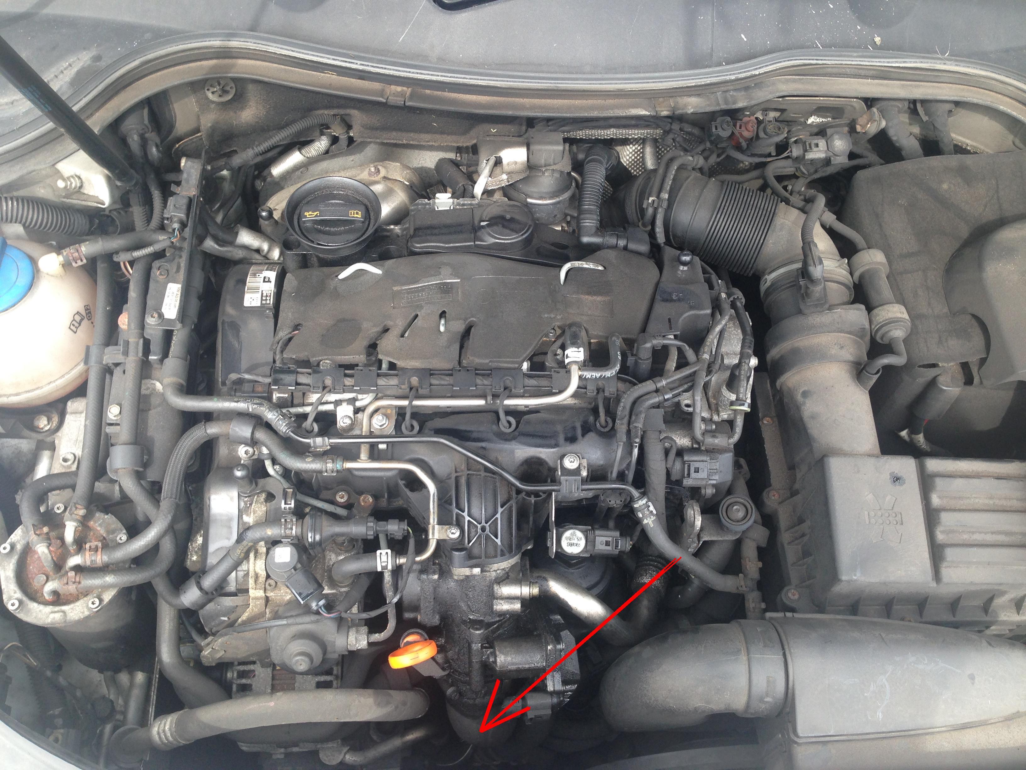 VW Passat 2009 2 0 TDI - Blad P0651 - silnik nie odpala