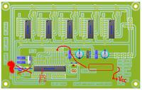 Sferyczny wyświetlacz widmowy na ATmega328P jak zrobić synchronizacje?