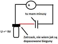 Czy pr�d sta�y w niewielkim stopniu przep�ywa przez kondensator?