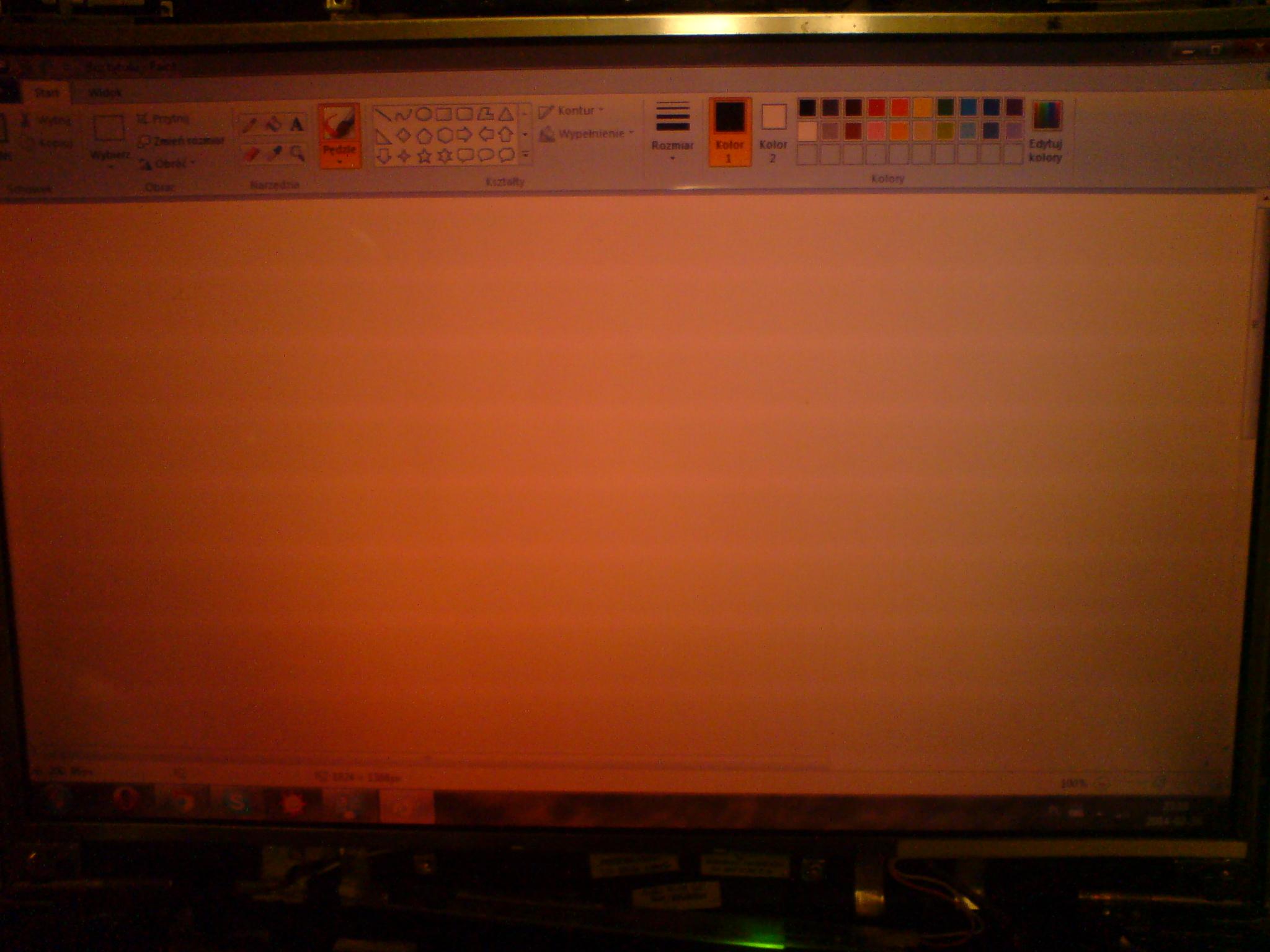 Acer aspire 3690 BL50 - Czerwony ekran, brak pod�wietlenia.