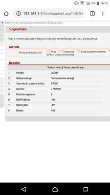 Huawei B593s-22 - Nowy Firmware