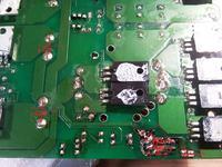 wzmacniacz Genesis Four Chann - upalone diody prostownicze
