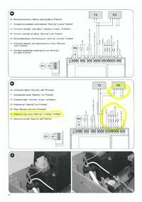 Podłączenie 4 fotokomórek do Nice Wingo2024 centralka MCA2