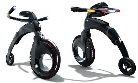 Yike Bike - kompaktowy rower elektryczny wchodzi do sprzeda�y