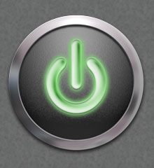 Przycisk ON/OFF. Układ do sterowania zwykłym włącznikiem chwilowym.