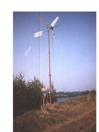 Elektrownia Wiatrowa budowa domowym sposobem cz.1 (Archiwum)