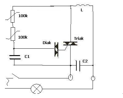 Powolne zapalanie światła 20W / 12V