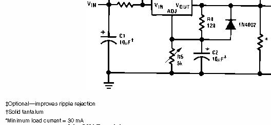 problem z LM317 + BD912