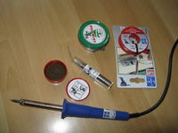 lutowanie - kondensatory