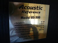Acoustic Reference Model BS-300