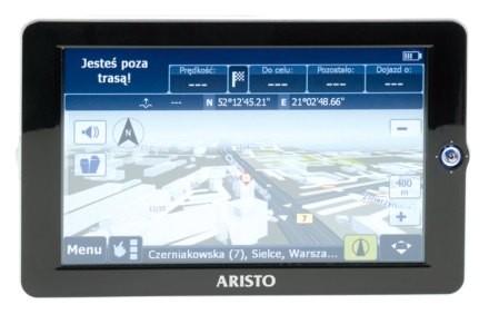 Multimedialny system nawigacyjny od Aristo