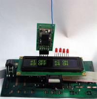 Thermo 4U blaster + 7 kan.sterownik IR ( 4xDS18x20 + LCD)