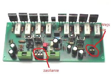 Problem AL-13 Końcówka mocy MOSFET