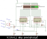 Woltomierz LED na 10 diod dwu kolorowych 0..30V co 1.5V