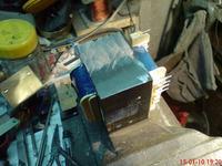 Amplituner Pioneer SX-205RDS - awaria transformatora.
