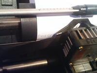 Maszyna do pisania ze starej drukarki igłowej