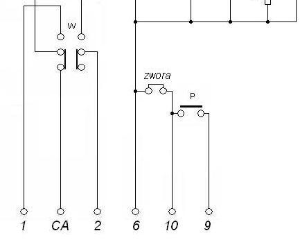 urmet 1131 analogowy - 6 �y�, niby dzia�a ale nie otwiera