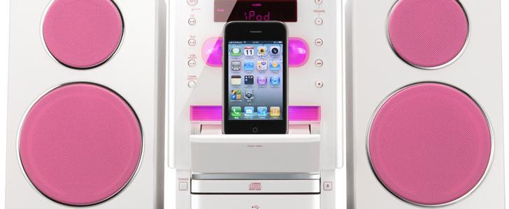 JVC UX-LP55 - nowy system audio klasy micro ze stacj� dokuj�c� dla iPod