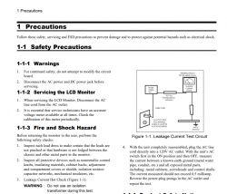 Prosta naprawa monitora który się nie chce włączyć - wymiana kondensatorów elekt