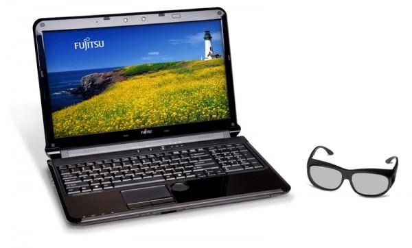 Lifebook AH572 od Fujitsu ekranem Xpol 3D i Sandy Bridge za 1089 dolar�w