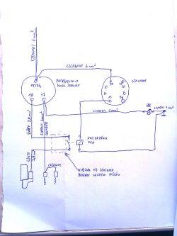 Ursus C-330M - modyfikacja inst. elektrycznej | skrzynka BP-1