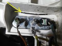 Pralka Indesit WIA 102 - Cieknie, pęknięcie czy fabryczny klej?czym zakleić?