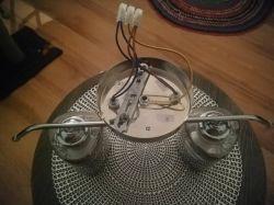 Podlaczenie żyrandola na 3 przewody