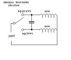 Jaki przekaźnik zmieniający obroty silnika jednofazowego ?