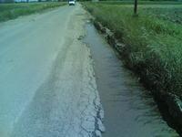 Droga Wojew�dzka 964   i jej 100-tny kilometr