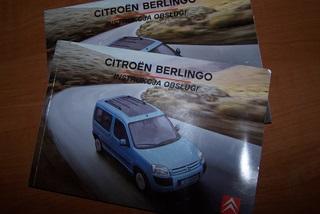 Szukam instrukcji do Citroena Berlingo Mulitispace 2005r. [j.polski]