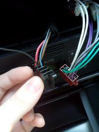 Audi a3 8l spalona instalacja do zasilania radia ??