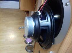 kolumny ferguson XTI 250 - mam uszkodzony głosnik basowy jaki to symbol ,moc gdz