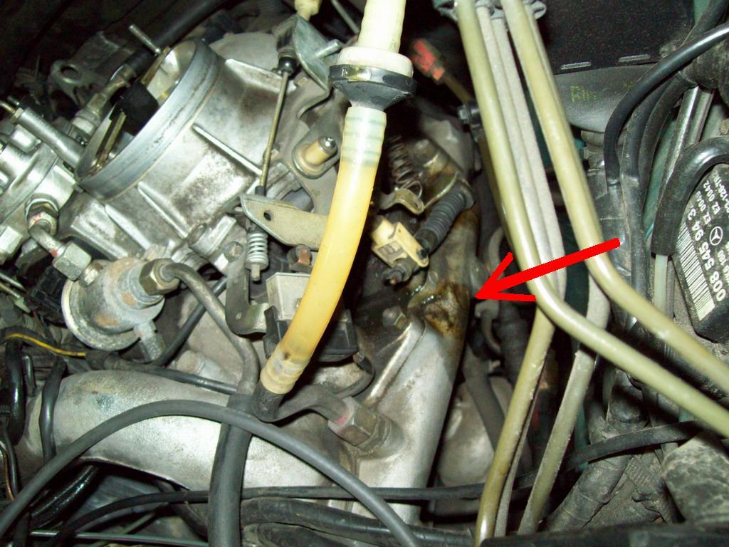 Mercedes W124 2,3+lpg zimny pali ok ale ma niskie obroty, ciep�y ci�ko odpala