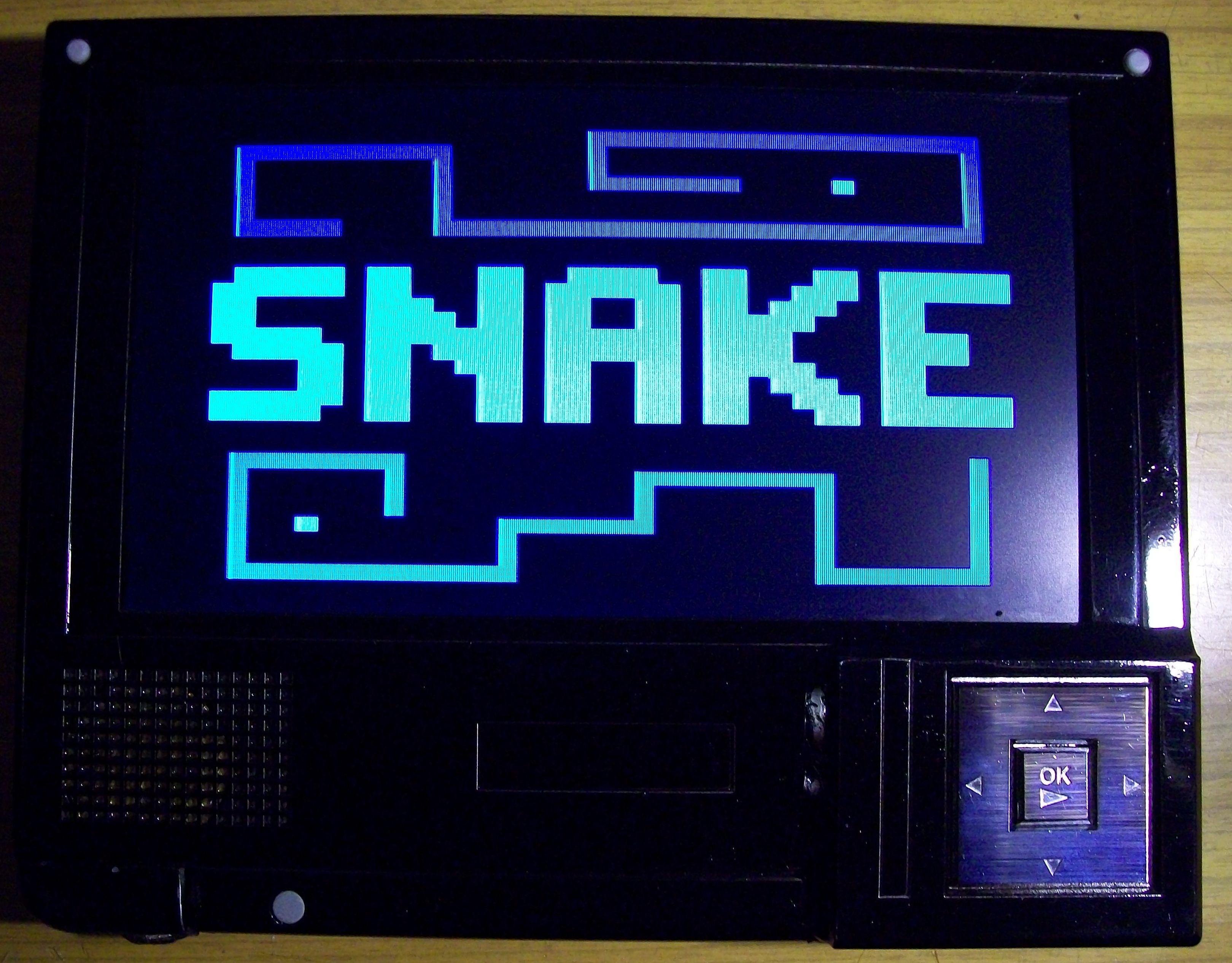 Snake - przeno�na konsola do gier - Konkurs