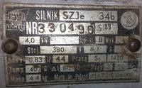 Silnik SZJe 34b - Jaki pr�d rozruchu, zabezpieczenie