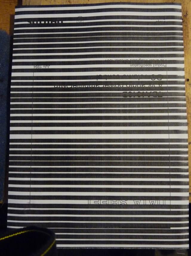 Hp LaserJet CM1312MFP - brudna strona, poziome pasy na wydruku