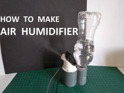 Ultradźwiękowy MiniNawilżacz Powietrza