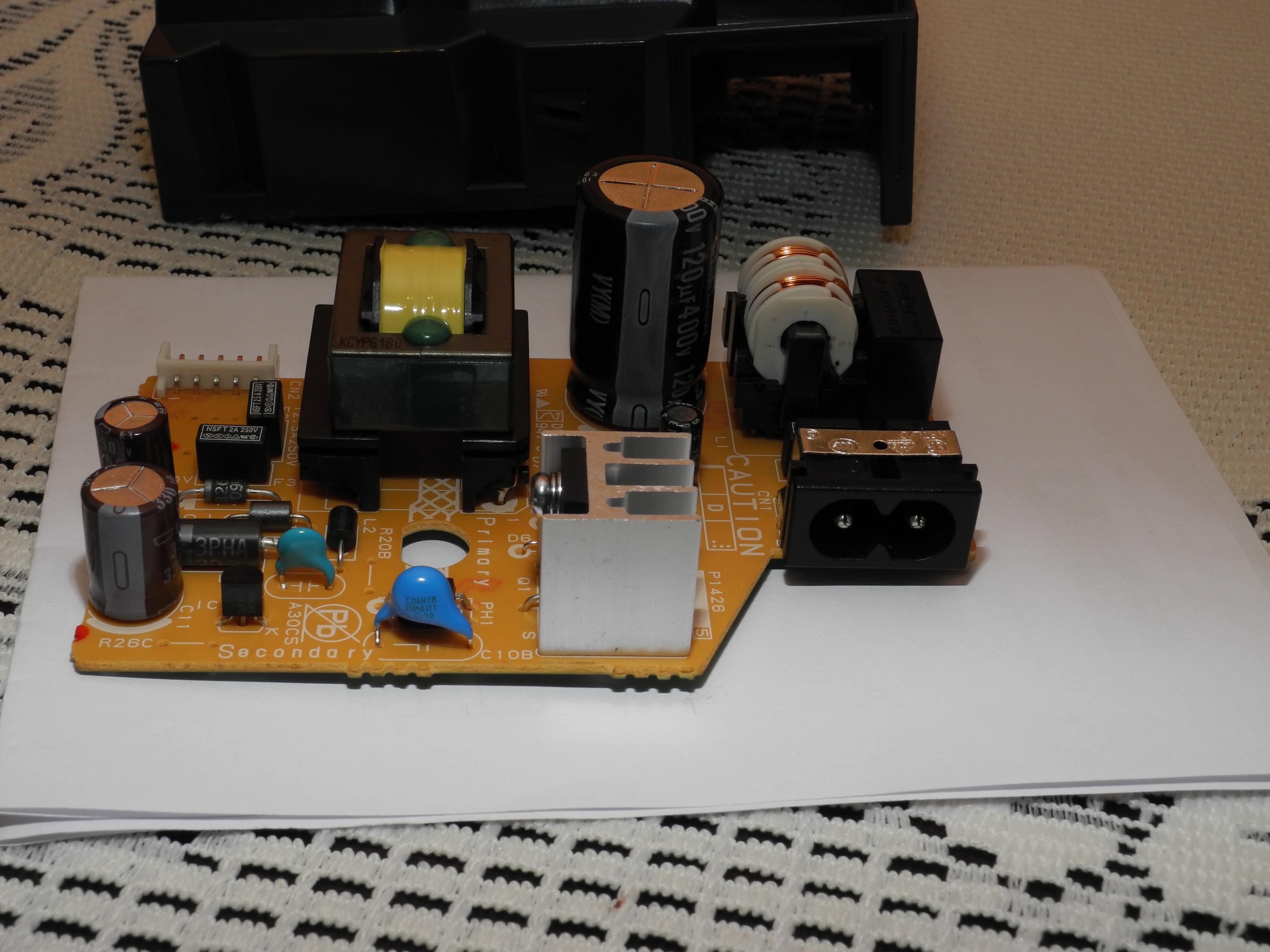 Canon IP 4700 - Drukarka nie w��cza si�