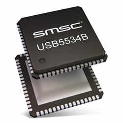 Microchip USB553XB-5000 - programowalny koncentrator USB 3.0