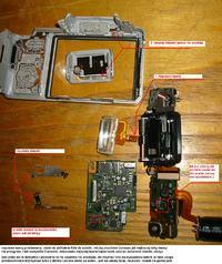 Sony DSC-H10 Problem z Lampa Błyskowa