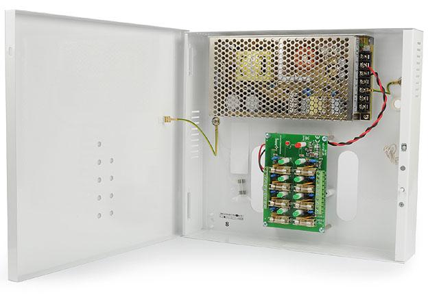 [Sprzedam] zasilacz PULSAR PSDC 12V/8A/8x1A Zasilacz impulsowy stabil